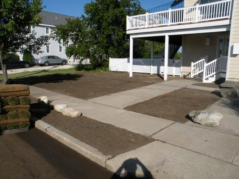 Landscaping renovation 3 for Landscape renovations