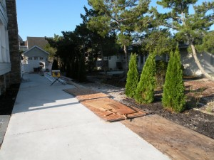Custom Landscape Installation 1