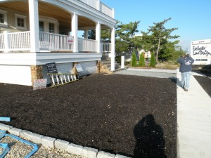 Custom Landscape Installation 2