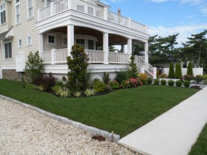 Custom Landscape Installation 7