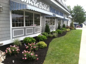 Uncle Bill's Pancake House after Exclusive Land Design work.